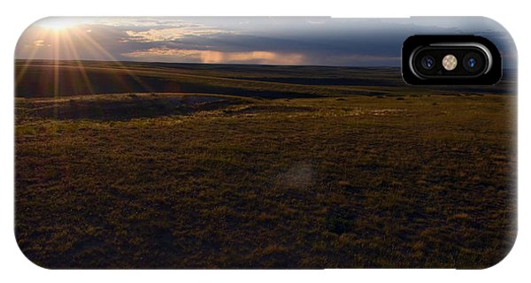 Sunset Near Limon IPhone Case