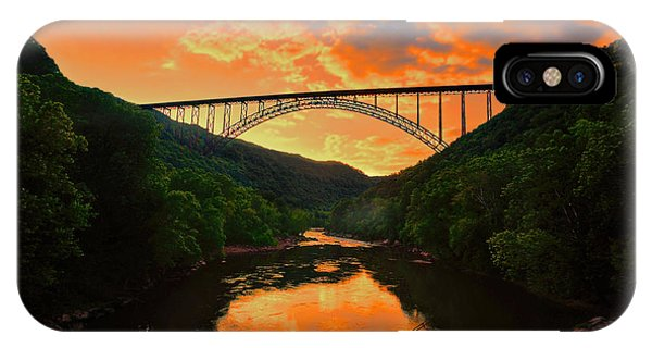Sunset New River Gorge IPhone Case