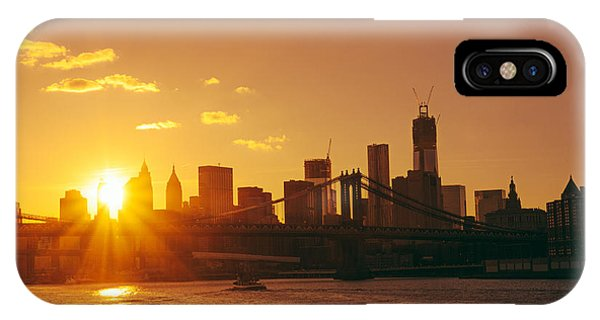 City Sunset iPhone Case - Sunset - New York City by Vivienne Gucwa