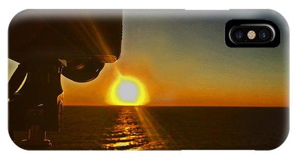 Sunset Off Miami IPhone Case