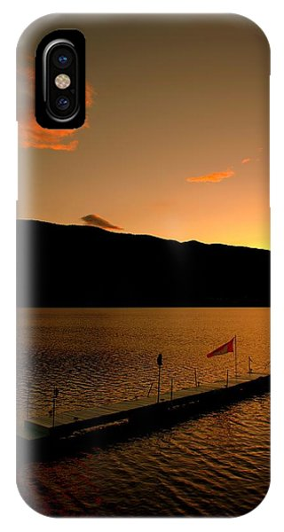 Sunset - Okanagan Valley 3/21/2014  IPhone Case