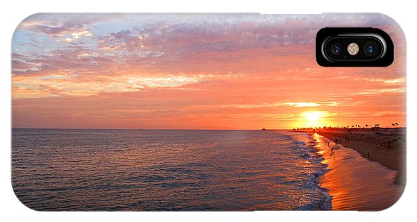 Sunset On Balboa IPhone Case