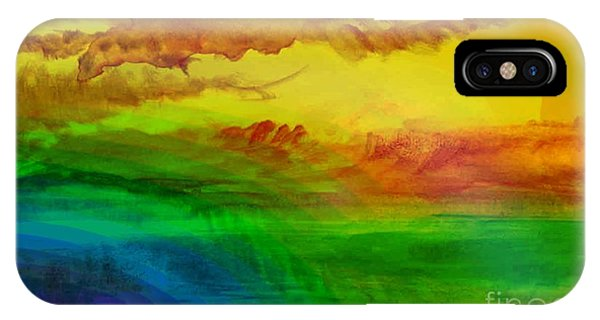 Sunset On Calistro IPhone Case