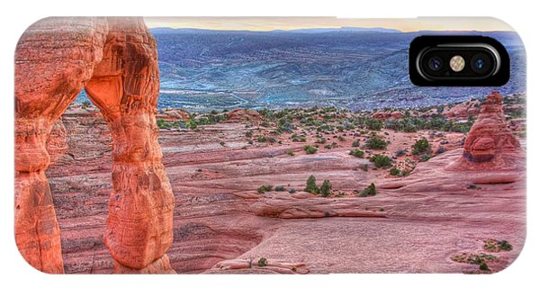 Sunset On Delicate Arch IPhone Case
