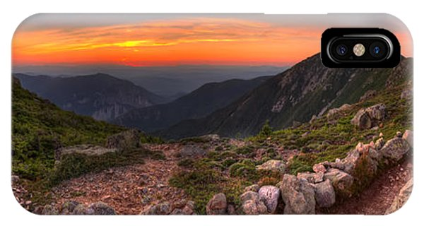 Sunset On Franconia Ridge IPhone Case