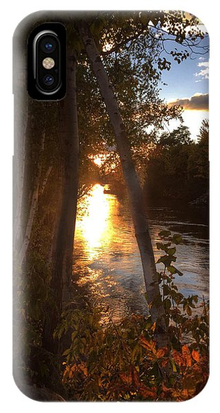 Sunset On Lake  IPhone Case