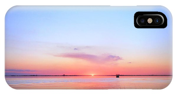 Sunset On Lake Washington IPhone Case