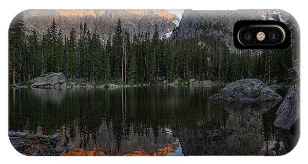Indian Peaks Wilderness iPhone Case - Sunset On Lone Eagle Peak by Aaron Spong