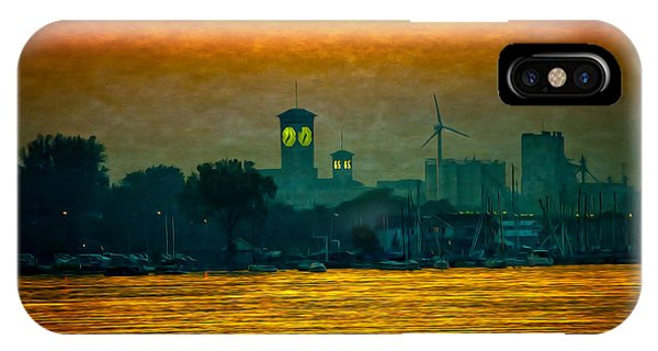 Sunset On Milwaukee's South Side  IPhone Case