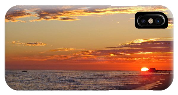 iPhone Case - Sunset On Newport Beach by Kelly Holm