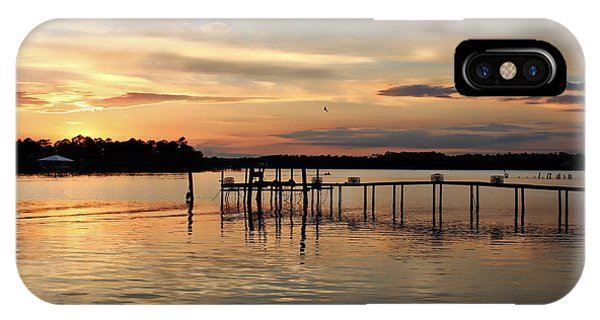 Sunset On Oyster Bay IPhone Case