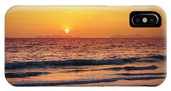 Sunset On Phiphi Island IPhone Case