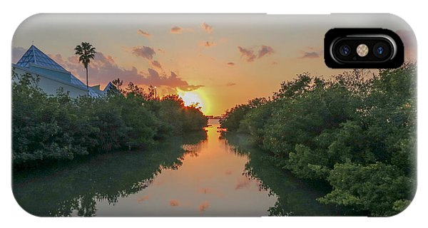 Sunset On Sarasota Bay IPhone Case