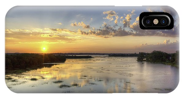 Sunset On The Ashley IPhone Case