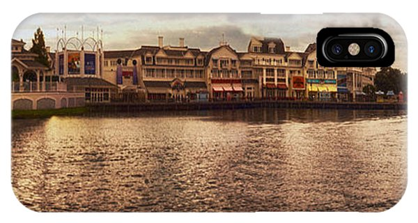 Sunset On The Boardwalk Walt Disney World IPhone Case