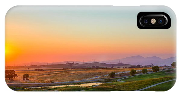 Sunset On The Greens IPhone Case