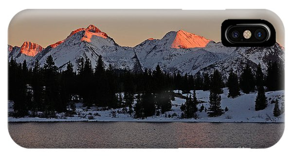 Sunset On The Grenadiers IPhone Case