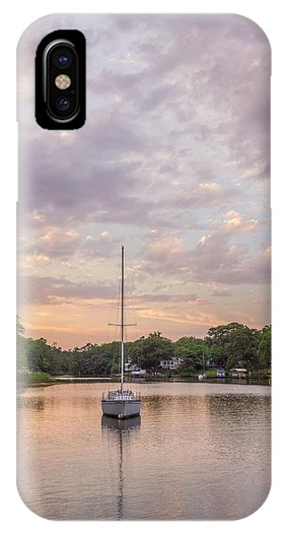 Sunset On The Magothy River IPhone Case