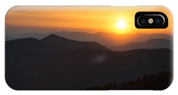 Sunset On The Parkway IPhone Case