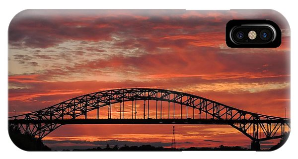 Sunset On The Piscataqua         IPhone Case