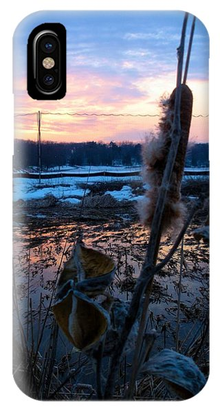 Sunset On The Pond IPhone Case