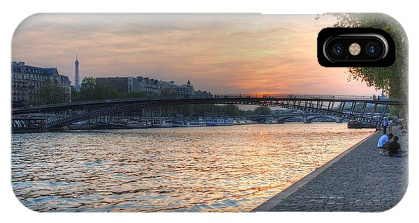 Sunset On The Seine IPhone Case