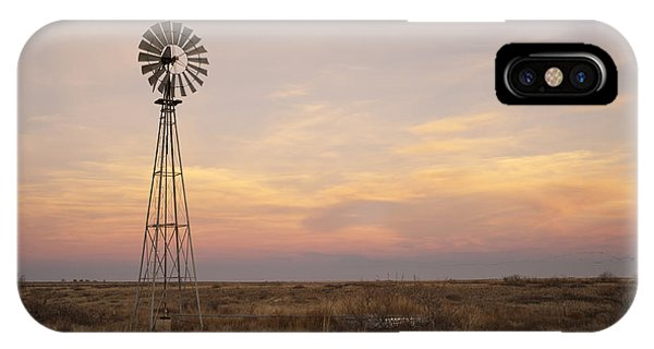 Farm iPhone Case - Sunset On The Texas Plains by Melany Sarafis