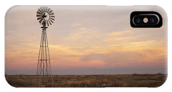 University iPhone Case - Sunset On The Texas Plains by Melany Sarafis