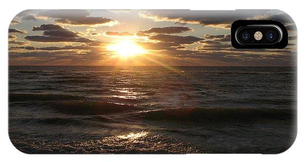 Sunset On Venice Beach  IPhone Case