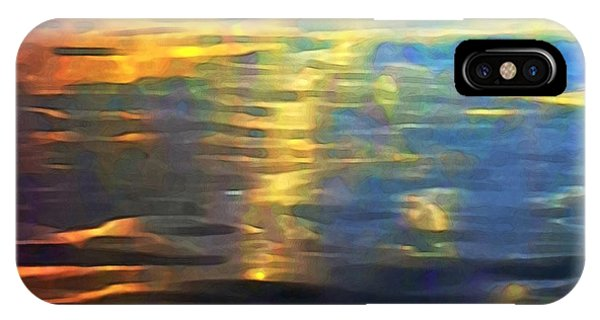 Sunset On Water IPhone Case