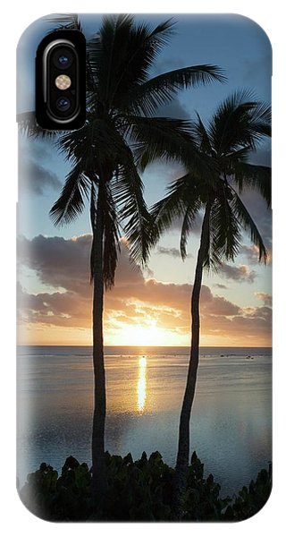 Sun Set iPhone Case - Sunset Over A Lagoon by Steve Allen/science Photo Library