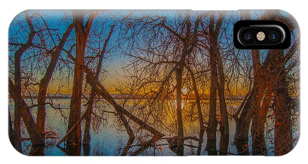 Sunset Over Barr Lake_2 IPhone Case