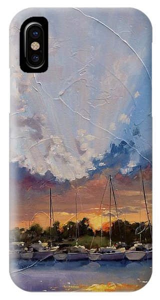 Sunset Over Bay Point IPhone Case
