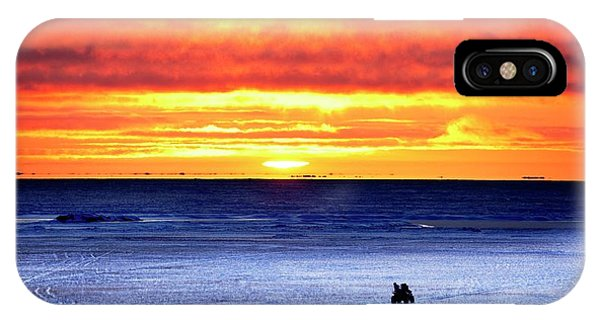 Sunset Over Beaufort Sea Alaska IPhone Case