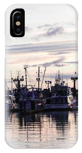 Sunset Over Bellingham Bay IPhone Case