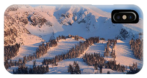 Sunset Over Blackcomb Mountain IPhone Case