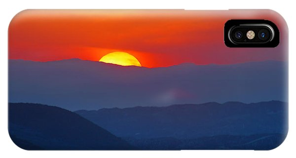 Sunset Over California IPhone Case