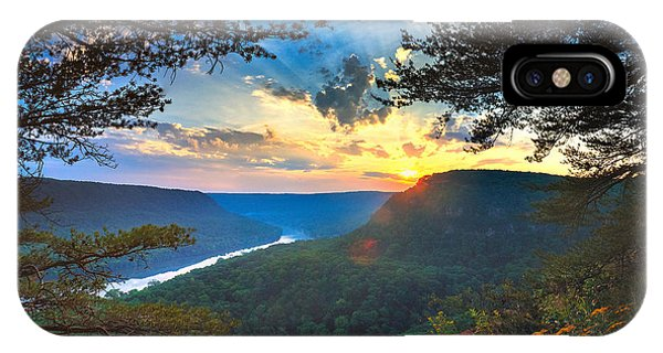 Sunset Over Edwards Point IPhone Case