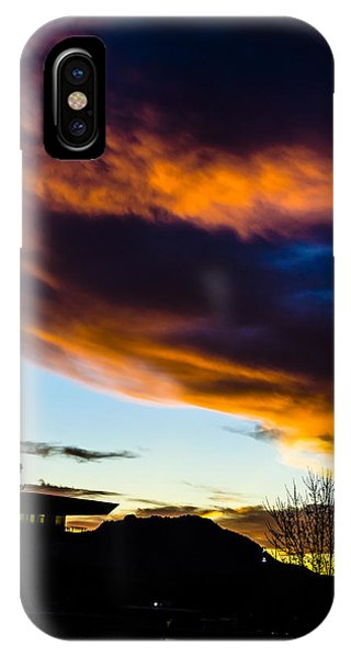 Sunset Over Granite Mountain And Ac1 IPhone Case
