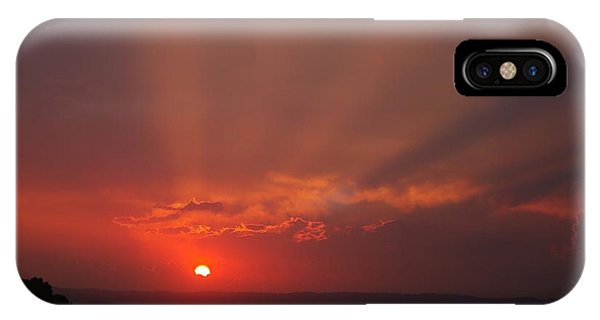 Sunset Over Hope Island 2 IPhone Case
