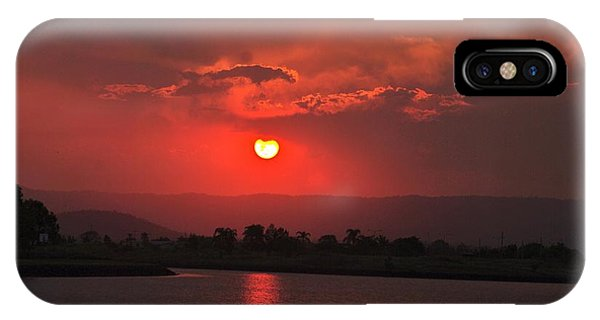 Sunset Over Hope Island IPhone Case