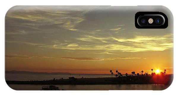 iPhone Case - Sunset Over Jetty Point by Kelly Holm