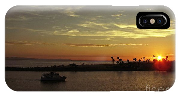 Sunset Over Jetty Point IPhone Case