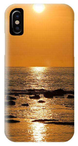Sunset Over Kona IPhone Case