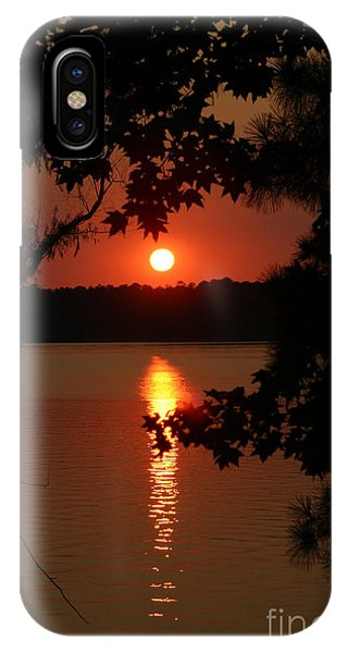 Sunset Over Lake IPhone Case