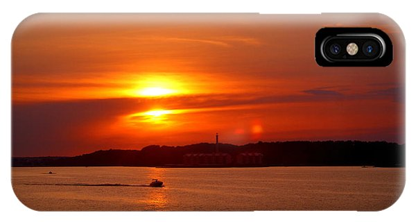 Sunset Over Lake Ozark IPhone Case
