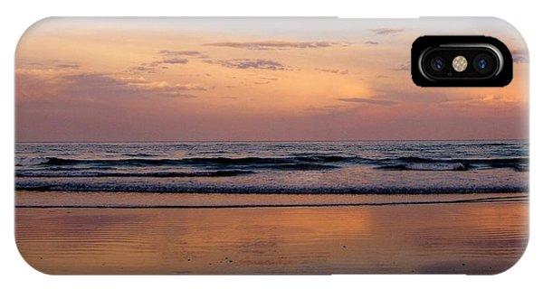 Sunset Over Long Sands Beach II IPhone Case