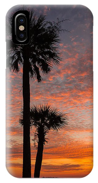 Sunset Over Marsh IPhone Case