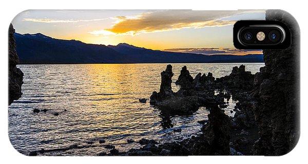 Sunset Over Mono Lake IPhone Case