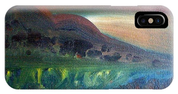 Sunset Over Mountains  Phone Case by Michaela Kraemer